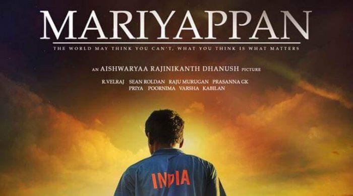 Mariyappan thangavelu movie poster