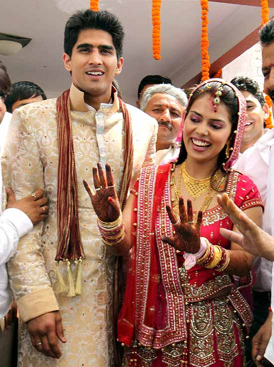 Vijender Singh wife