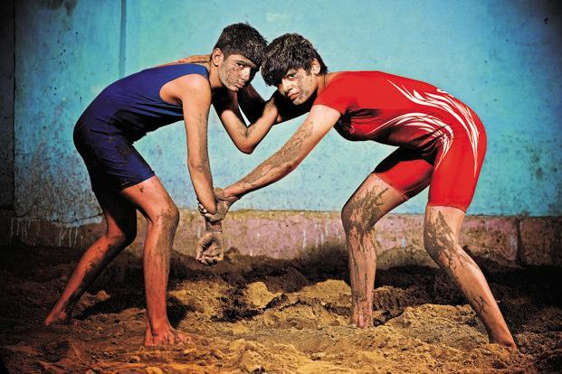 women's wrestling in india