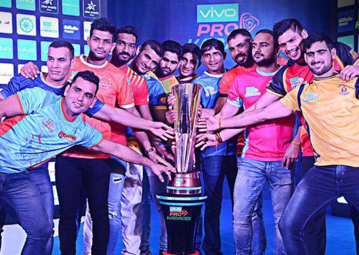 Pro kabaddi teams on KreedOn