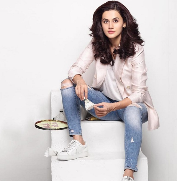 Tapsee pannu on KreedOn
