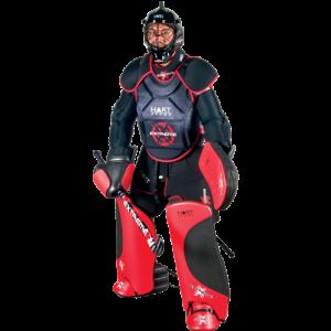 A field hockey goalkeeper KreedOn