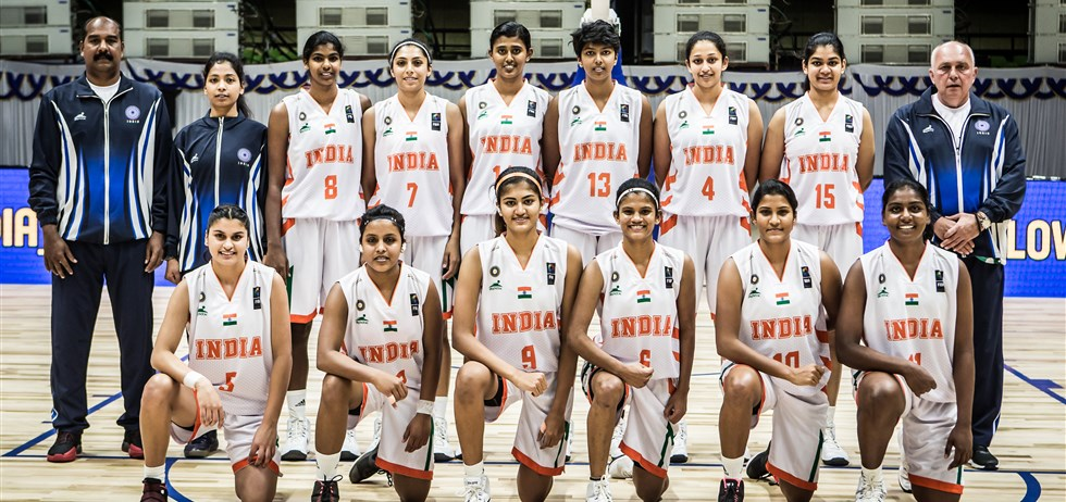 The Indian U18 Women's Basketball team