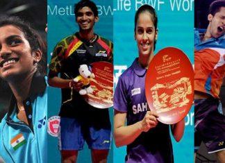 badminton players
