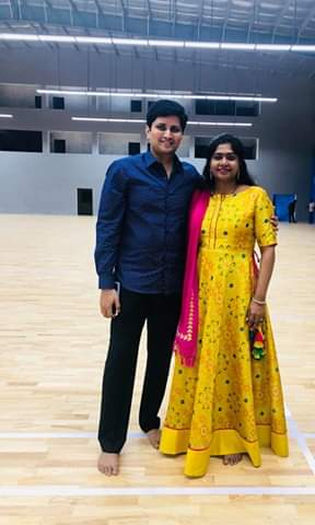 chetan anand with wife