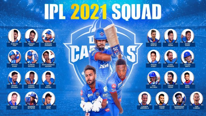 Delhi Capitals Players 2021, KreedOn