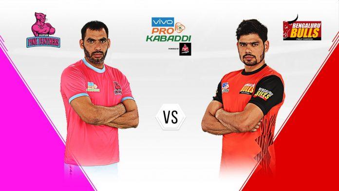 Pink Panthers vs Bengaluru Bulls KreedOn