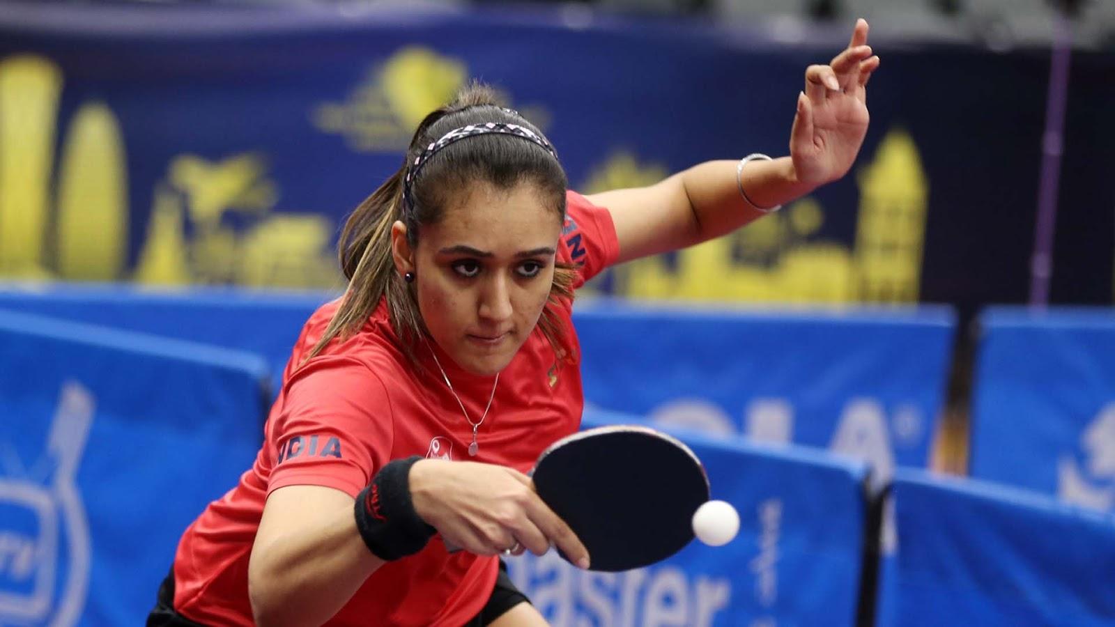 Manika Batra Awarded Breakthrough Table Tennis Star By Ittf