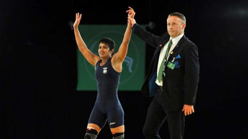 Babita Phogat in action