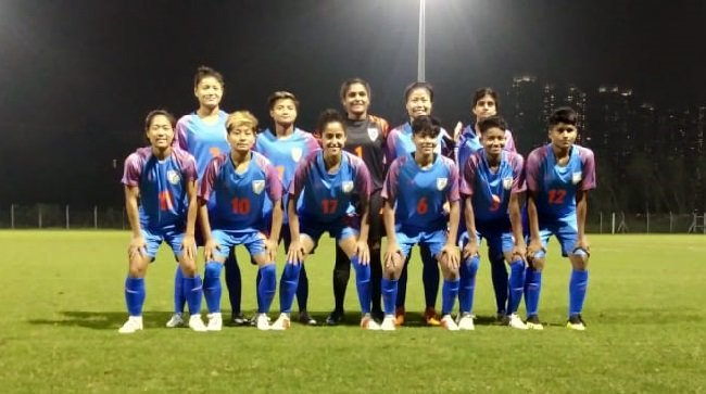 Indian women's football team