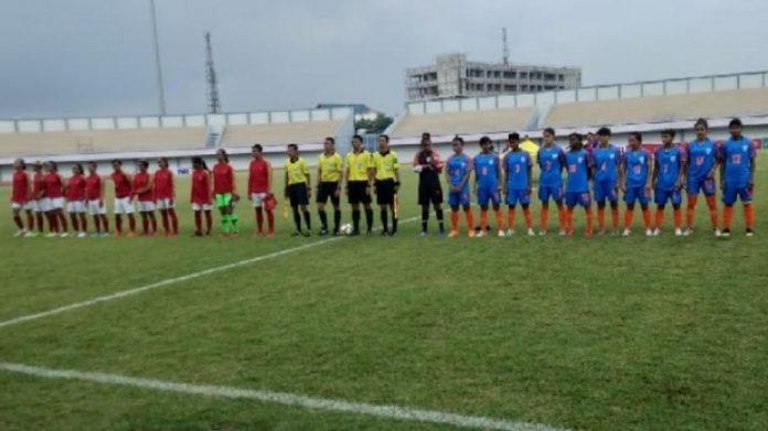 India vs Indonesia Women Football