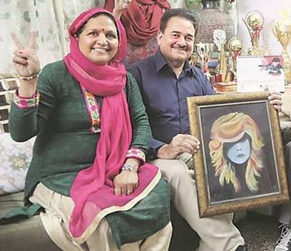 Anjum Moudgil - parents