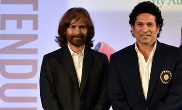 Sachin and Ajit Tendulkar