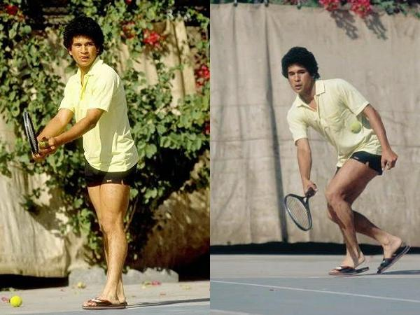 Sachin Tendulkar Tennis
