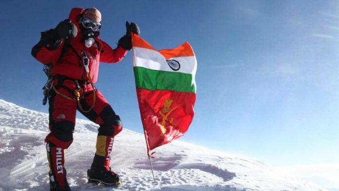 Col Ranveer Jamwal Mountaineering