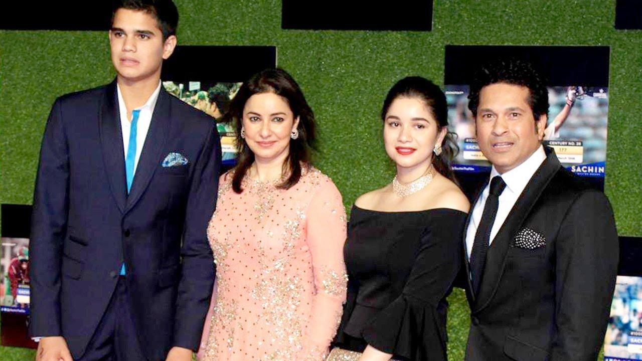 Tendulkar family