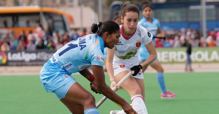 India vs Spain Women Hockey