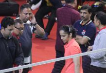 Saina Nehwal Badminton Nationals