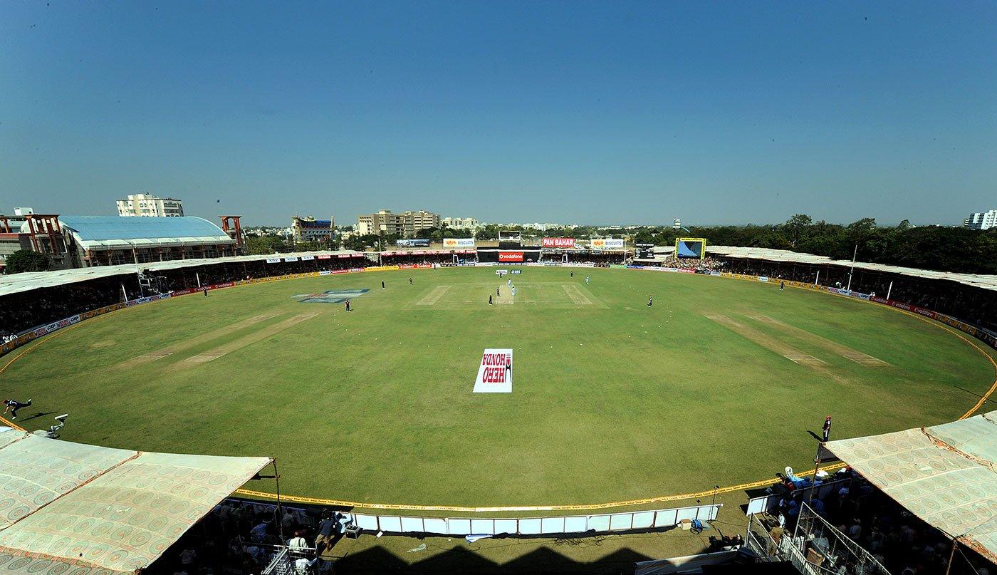 Rajkot cricket stadium in India   KreedOn