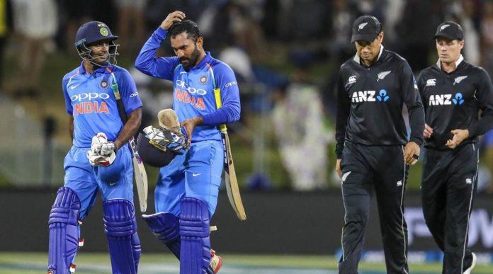India vs New Zealand Series