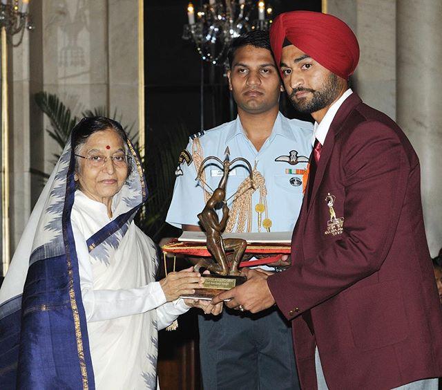 sandeep singh arjuna award