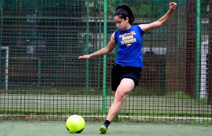 Tanvie Hans Football