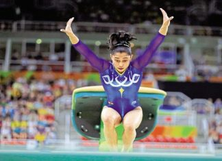 Dipa Karmakar Olympics