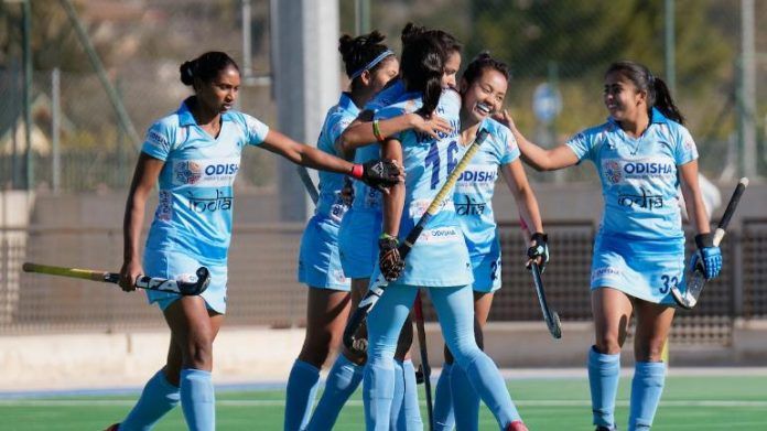 indian women hockey