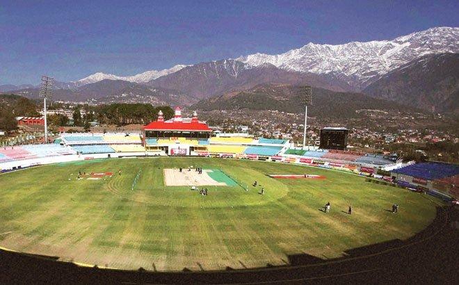 Dharmashala cricket stadium in India   kreedOn