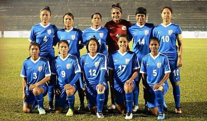 indian women football Gold Cup