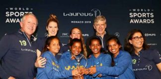Laureus Sport for Good award