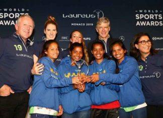 Laureus Sport for Good award