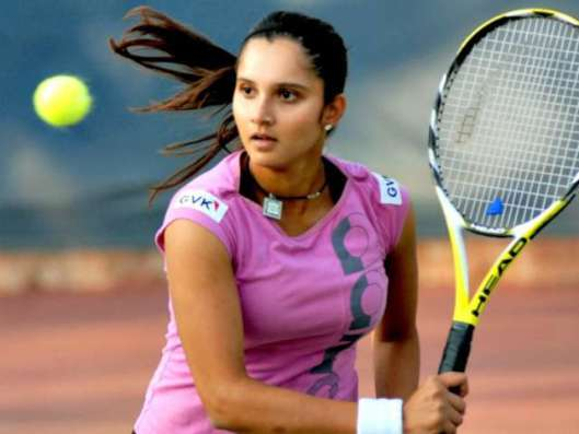 Sania Mirza (Tennis)  IMAGES, GIF, ANIMATED GIF, WALLPAPER, STICKER FOR WHATSAPP & FACEBOOK