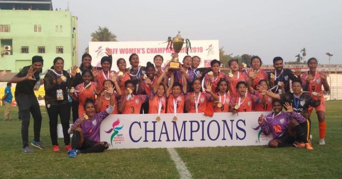 India beat Nepal in SAFF women championship