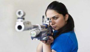 Indian womens in Olympics apurvi chandela