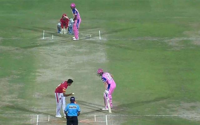 Mankading in cricket