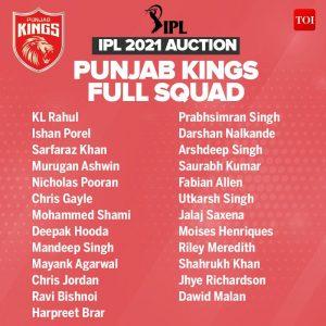Punjab kings, KreedOn