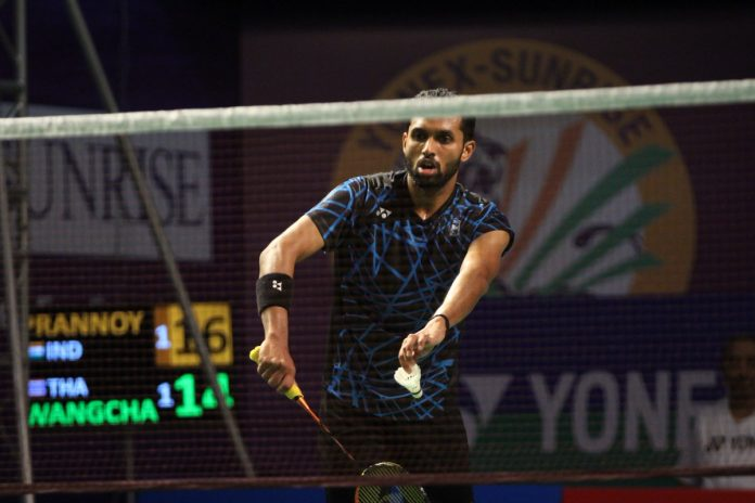 HS Prannoy India Open 2019