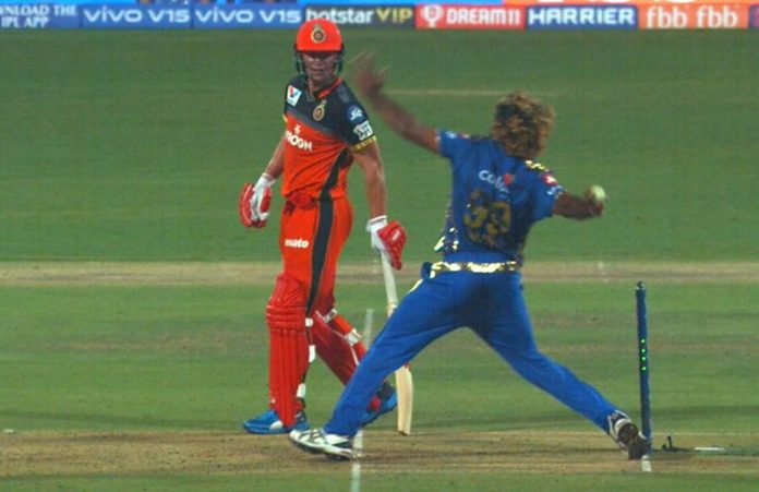 RCB vs MI No ball controversy