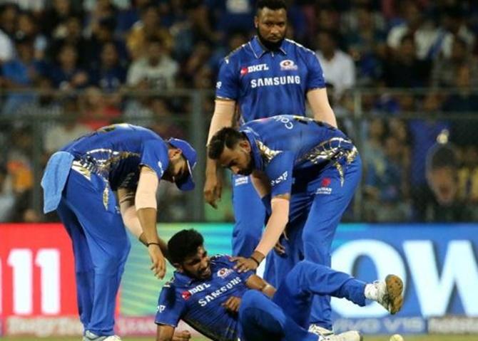 Jasprit Bumrah IPL 2019