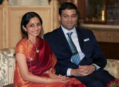 viswanathan anand wife