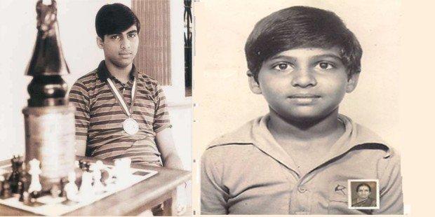 viswanathan anand childhood