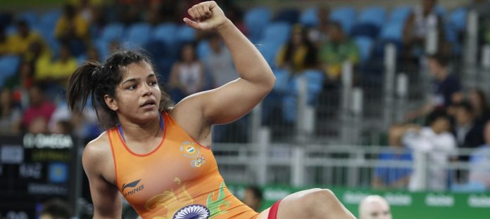 Sakshi Malik records