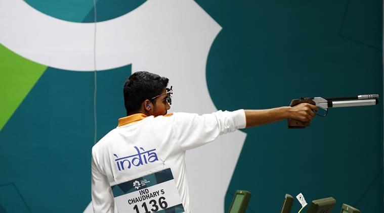 saurabh chaudhary shooting