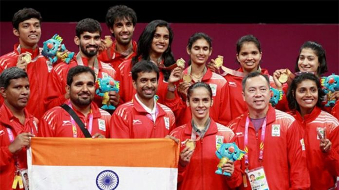 Indian doubles badminton coach