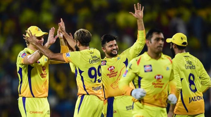 CSK IPL 2019 Points Table