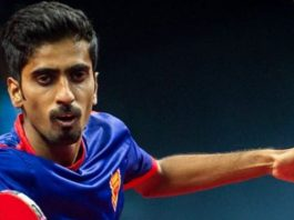 G Sathiyan fixes spot in World Cup