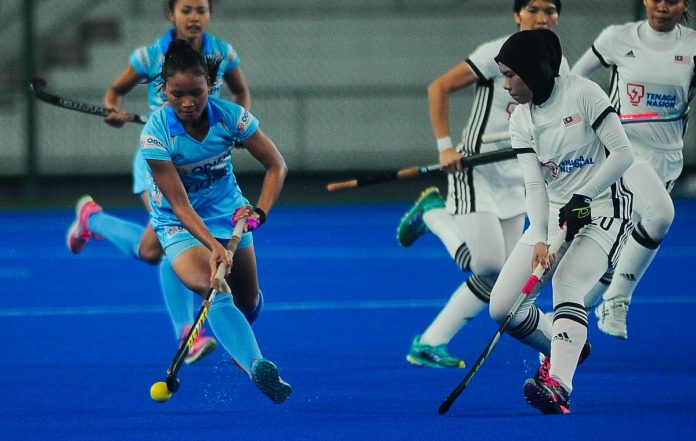 India vs Malaysia women's hockey 2019