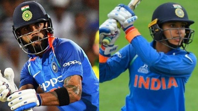 Kohli, Mandhana receives Wisden Players of the Year 2019