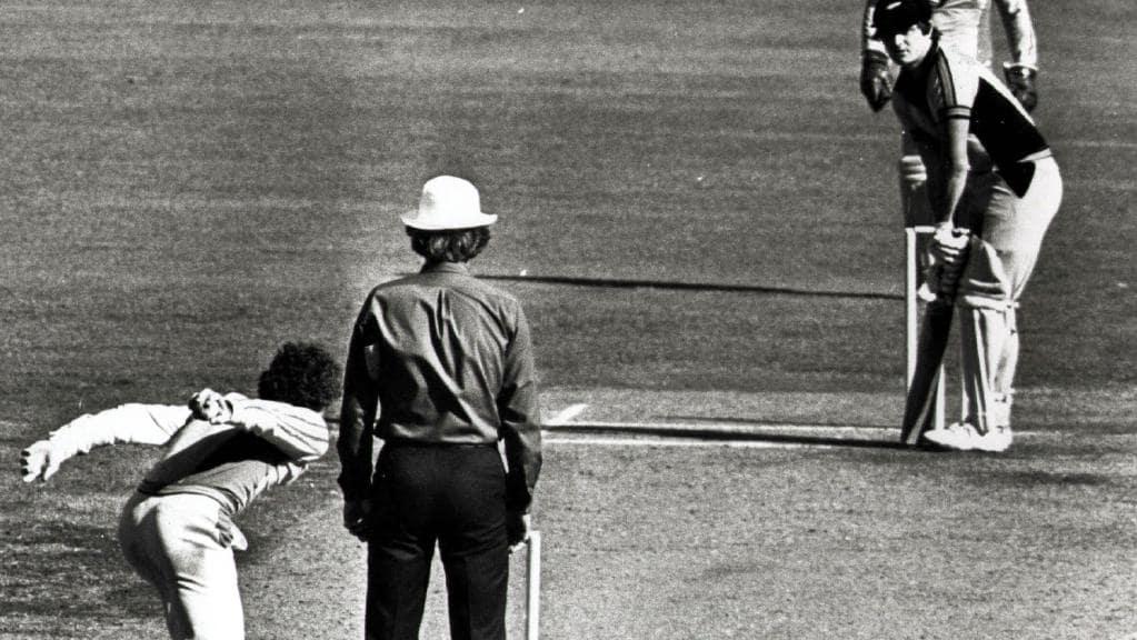 Underarm Ball scandal 1981